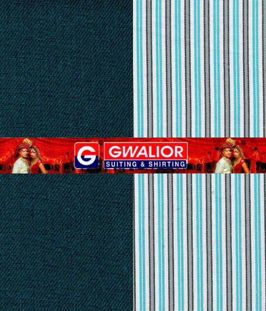 8ff46c03f20 Gwalior Suiting   Shirting Multicolour Poly Blend Unstitched Shirts    Trousers Price in India