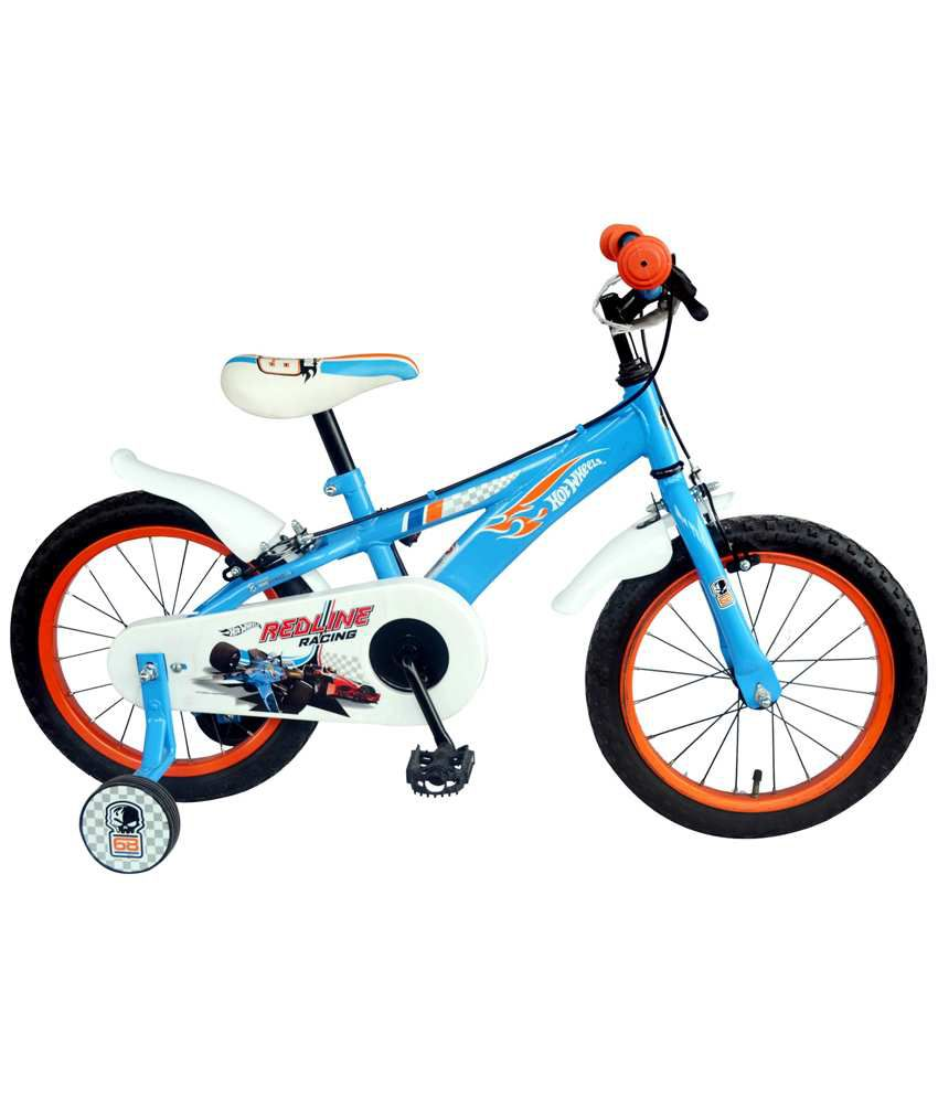 e7c3f6cd741 Kross Hot Wheels Bicycle - Blue: Buy Online at Best Price on Snapdeal