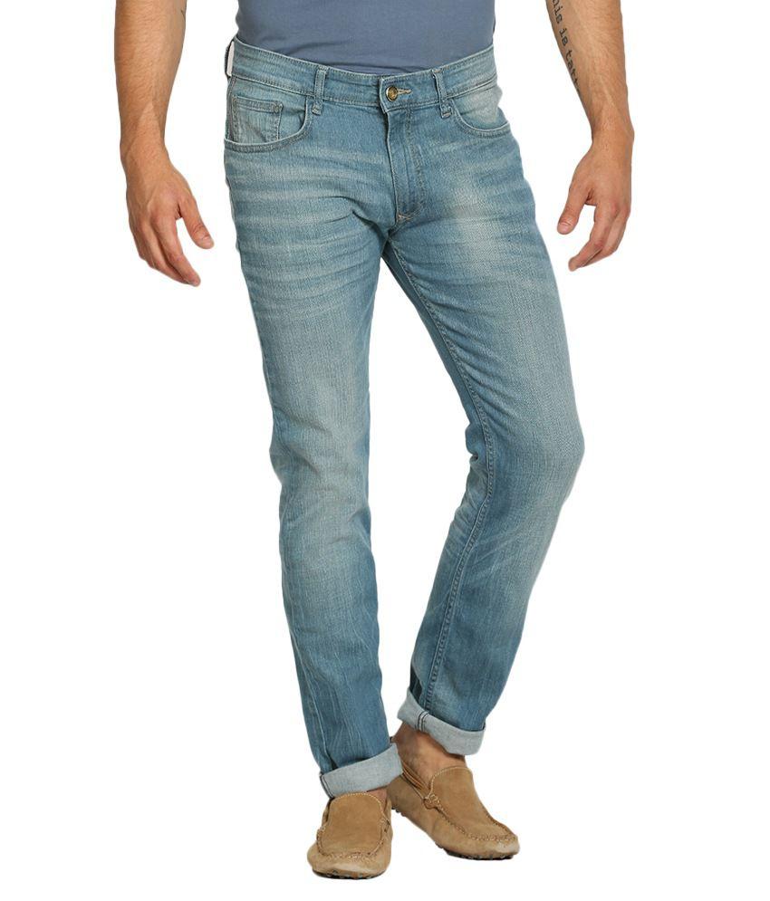 Locomotive Blue Skinny Fit Jeans