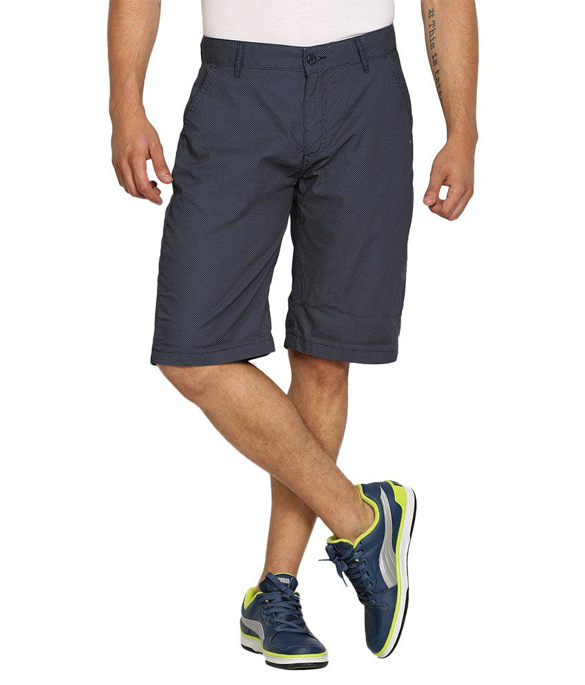 Locomotive Navy Shorts