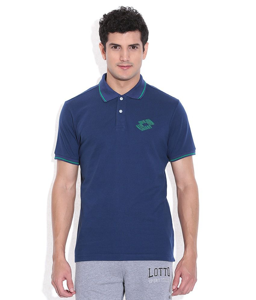 Lotto Navy Polo T-Shirt