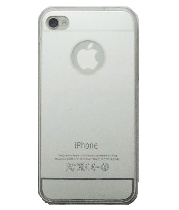 YGS Silicon Soft Back Cover Case For Apple iPhone 6 - Grey