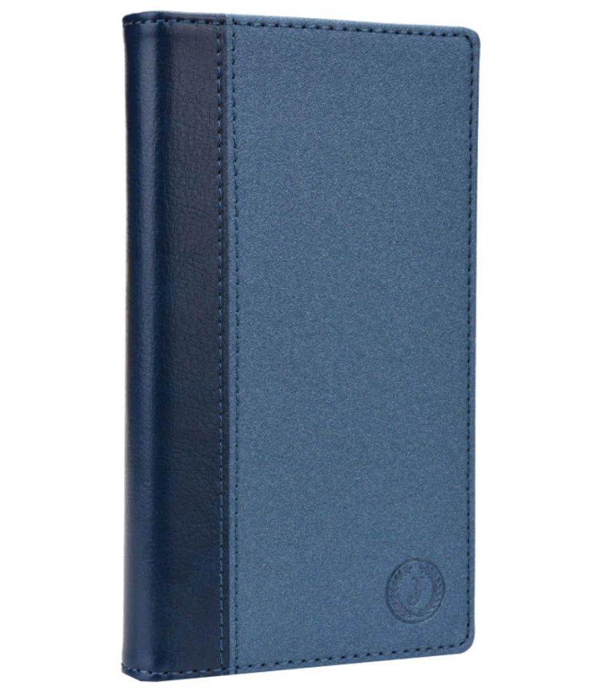 Jo Jo Flip Cover For HTC One M8 Eye - Blue
