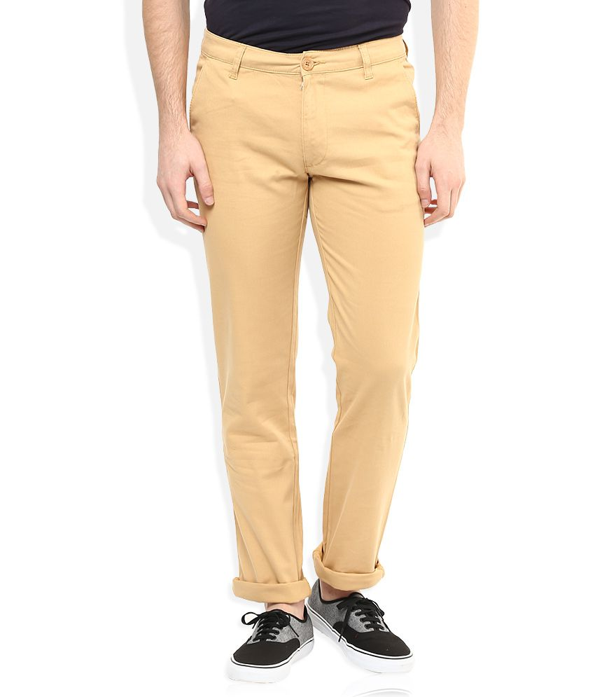 American Swan Brown Casuals Chinos
