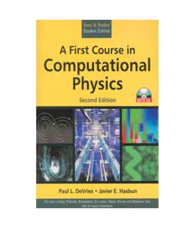A First Course In Computational Physics, 2nd Edition (With Cd)