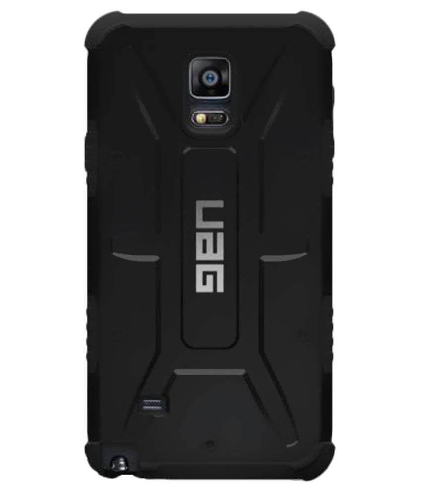 online store cc834 4289f UAG Back Cover for Samsung Galaxy Note 4 - Black