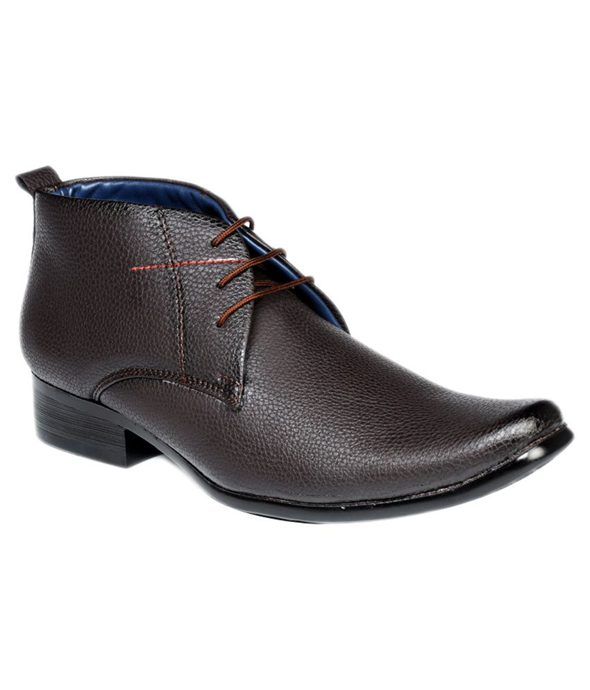 Valenki Brown Lace Boots