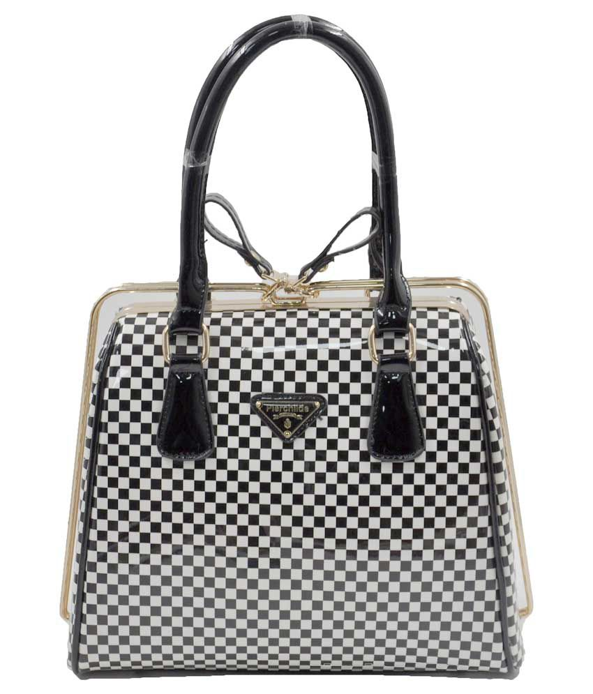 Pierchilde Black and White Shoulder Bag - Buy Pierchilde Black and White Shoulder  Bag Online at Best Prices in India on Snapdeal cec731015389b