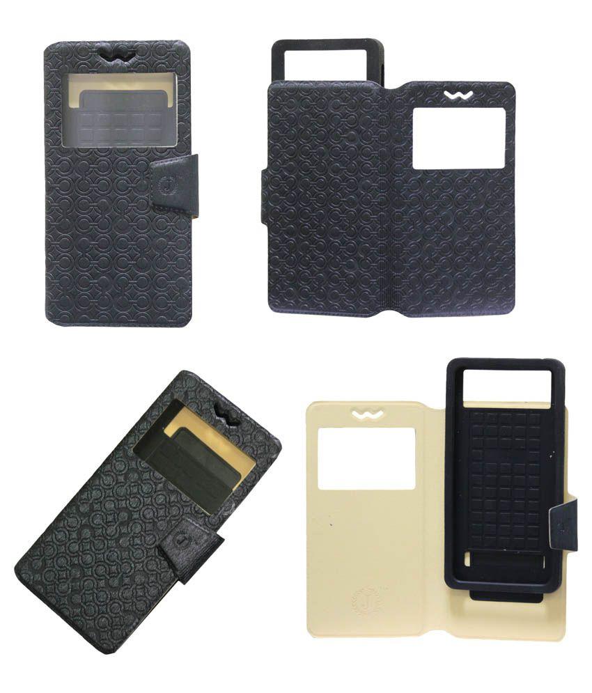 Jo Jo Flip Cover For Sony LT29i - Black