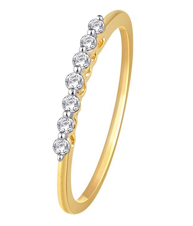 My Zevar Dian 18Kt Diamond Gold Ring