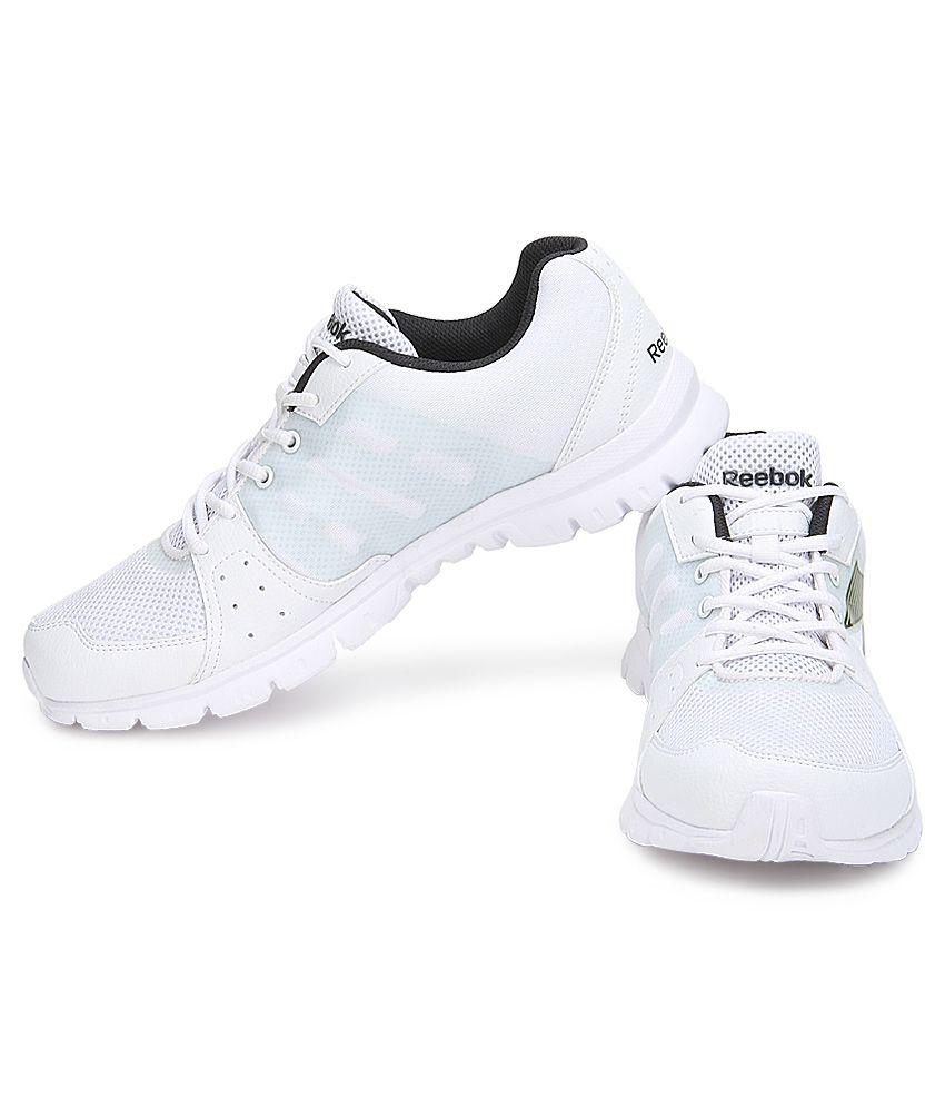 166a18e1444 Reebok Super Run White Sports Shoes - Buy Reebok Super Run White ...
