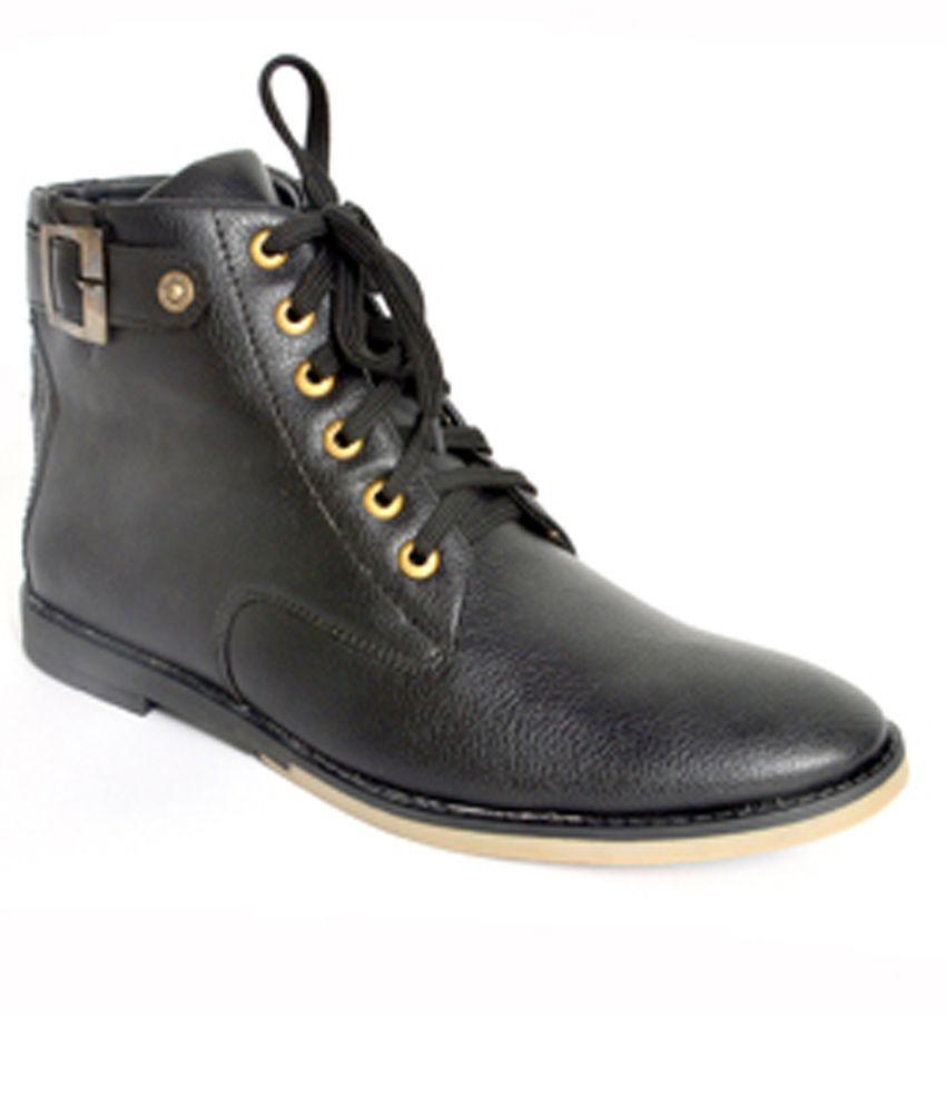 Summer Black Boots