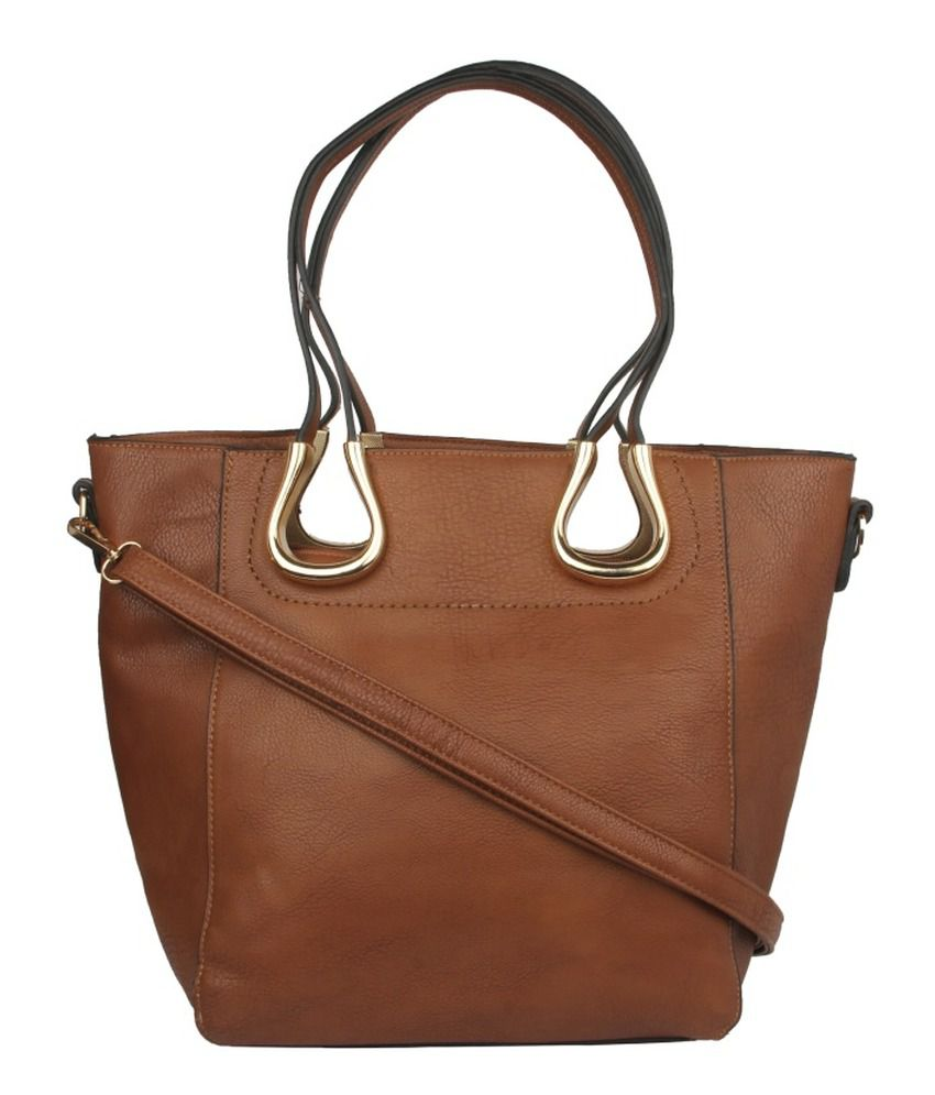 Alvaro Castagnino Brown Shoulder Bag