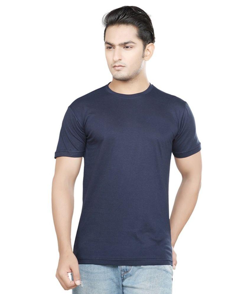 Gnas Black Cotton Blend T Shirt