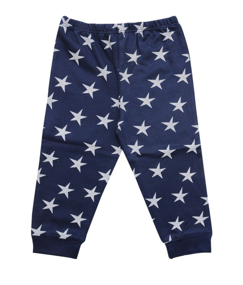 Most Wanted Navy Graphics Cotton Capri