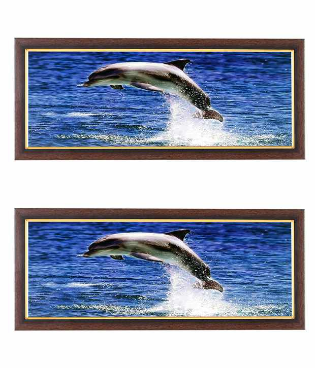 Wens Dolphin Wall Art (Buy 1 Get 1)