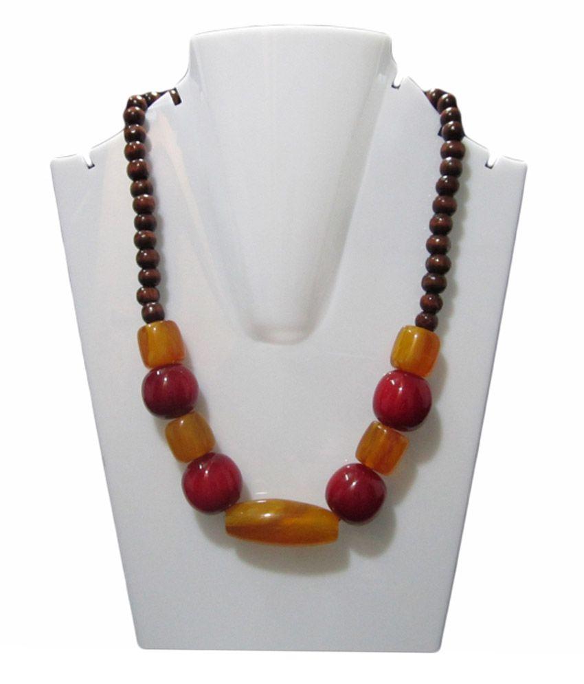 Art Galore Multi Colour Alloy Necklace