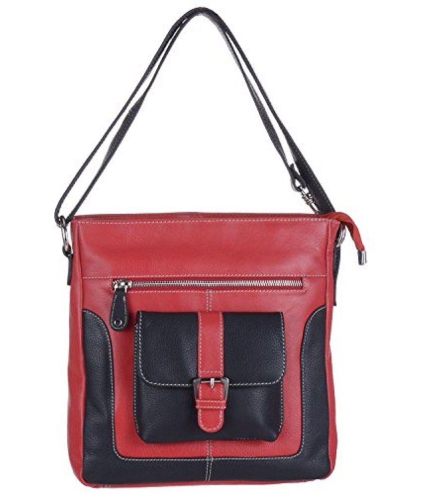 Euphoria Red Shoulder Bag