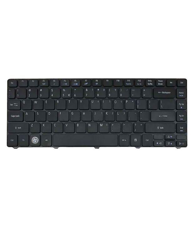 Lapster acer aspire 4736g 4736z 4736zg 4935 laptop Black Inbuilt Replacement Laptop Keyboard Keyboard