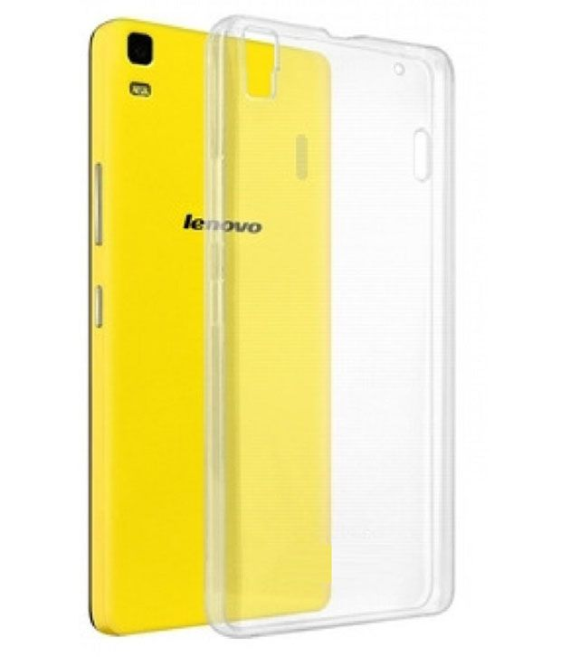 los angeles 09f47 81708 Groovy Silicon Soft Back Case Cover For Lenovo K3 Note - Transparent