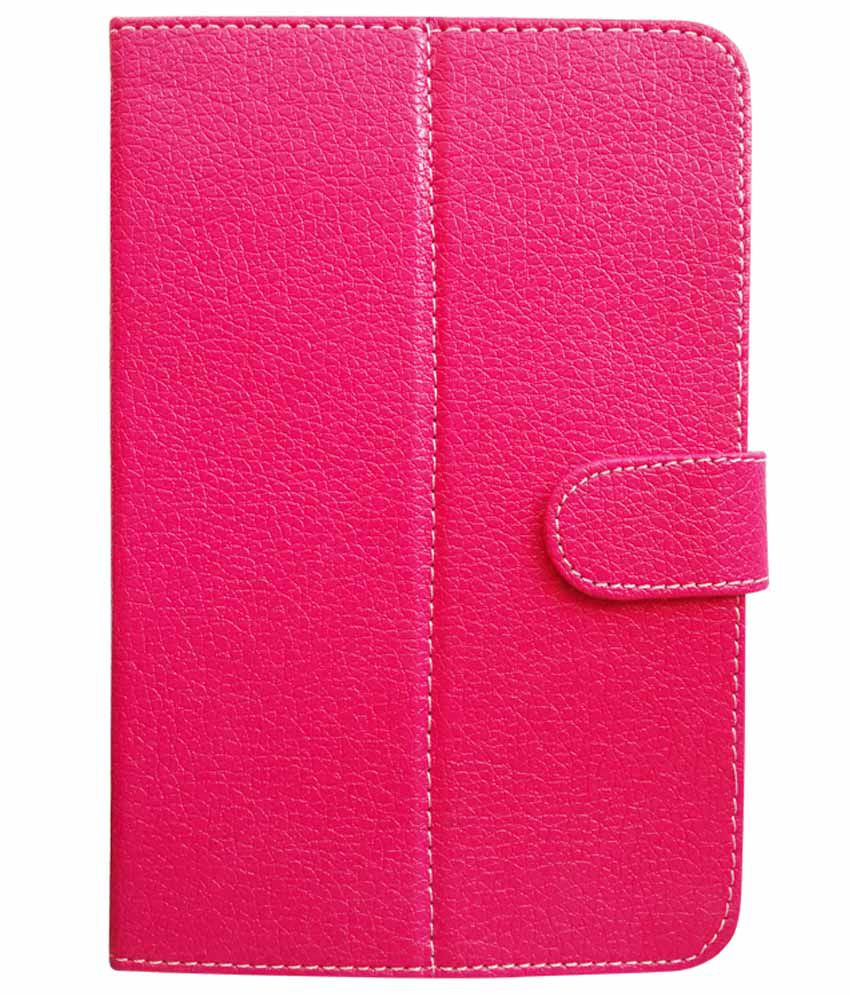 Fastway Flip Cover For Beetel Magiq II Calling -Pink