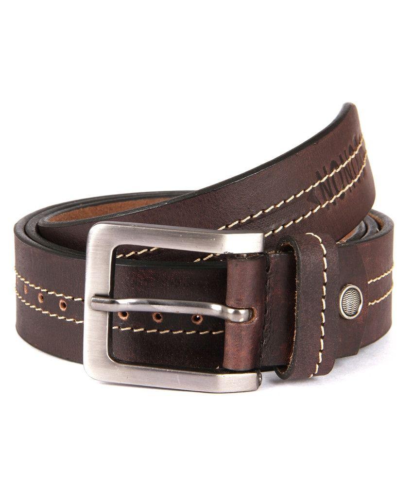 Zonon Brown Casual Belt