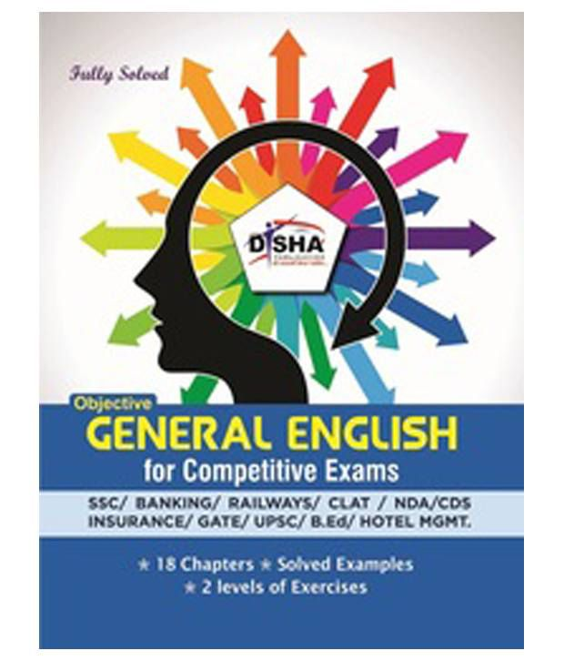 Objective General English for Competitive Exams - SSC/Banking/Rlwys/CLAT/NDA/CDS/Hotel Mgmt./B.Ed Paperback (English)