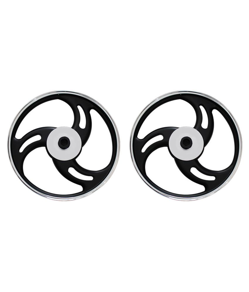 Spedy Silver Bike Alloy Wheel For Yamaha Rx 100 Set Of 2 Buy
