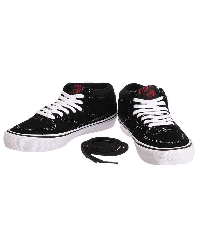 68799b6491 VANS Half Cab Pro Black Casual Shoes - Buy VANS Half Cab Pro Black ...