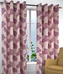 Quick View Homefab India Set Of 2 Window Eyelet Curtains