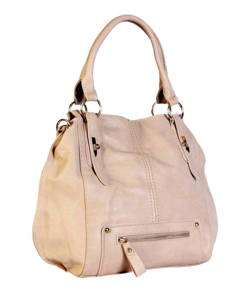 Evolve Beige Shoulder Bags