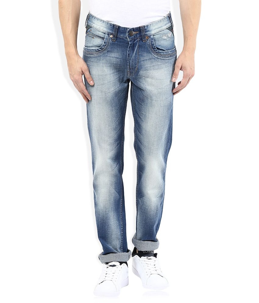 Numero Uno Regular Fit Blue Jeans