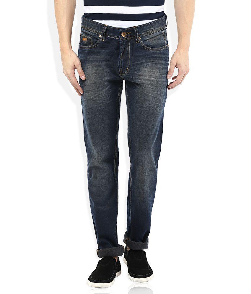 Numero Uno Regular Fit Blue Jeans
