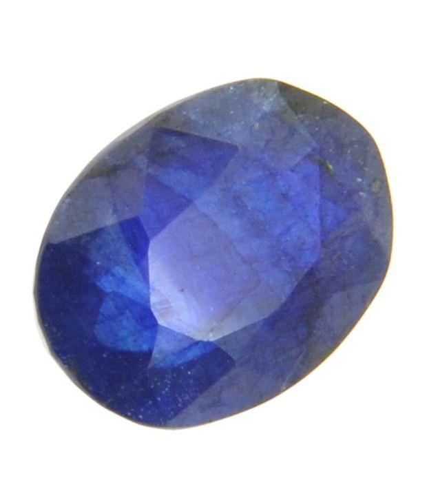 gem testing lab 5 20 carat blue sapphire neelam oval
