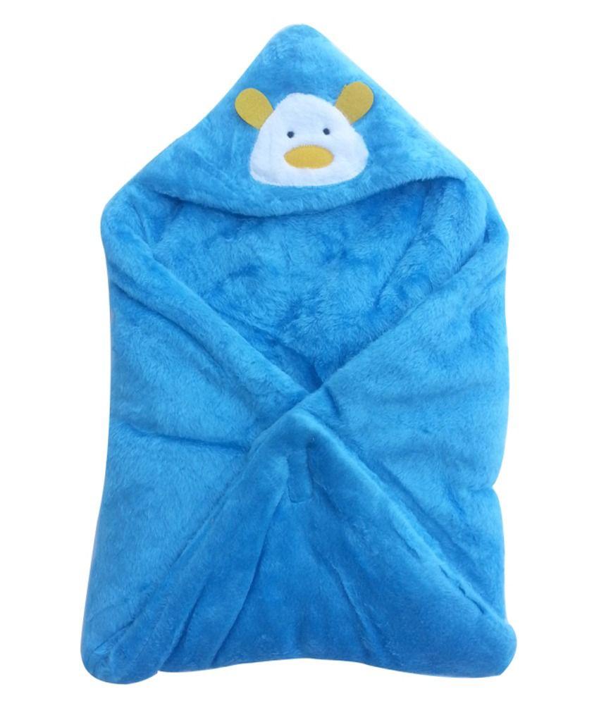Cute Baby Blue Baby Wrap