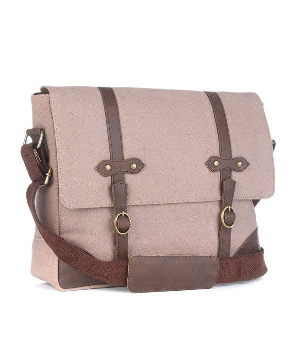 Louise & Harris Well-formed Brown Laptop Bag