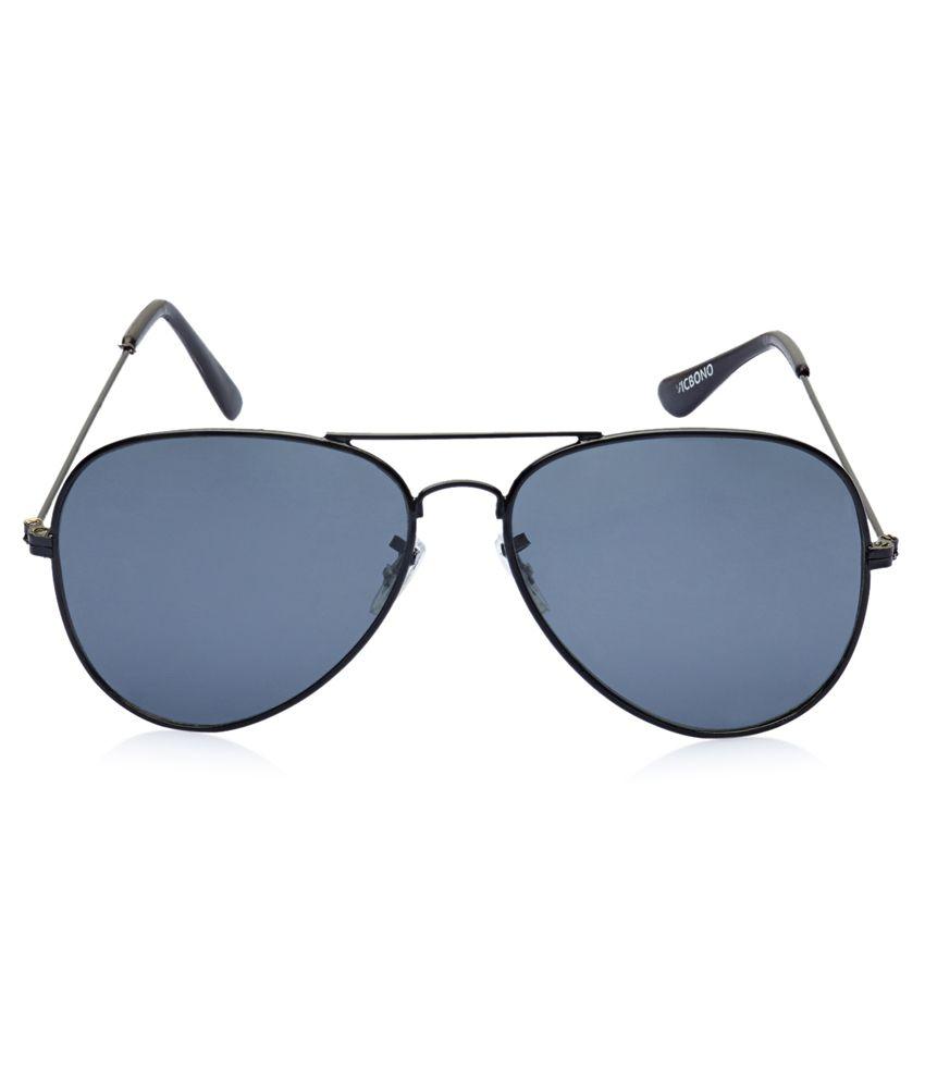 71fd2392e0d Vicbono Black Frame Black Lens Aviator Sunglasses Vicbono Black Frame Black  Lens Aviator Sunglasses ...