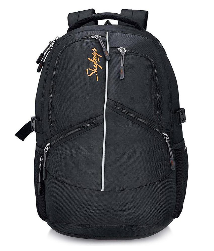 Skybags Crew 02 Laptop Backpack Black - Buy Skybags Crew 02 Laptop Backpack  Black Online at Low Price - Snapdeal 4c1698f906e86