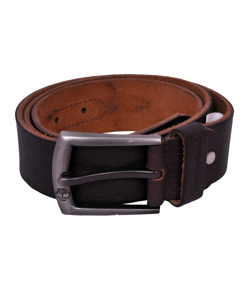 Timberland Brown Leather Belt