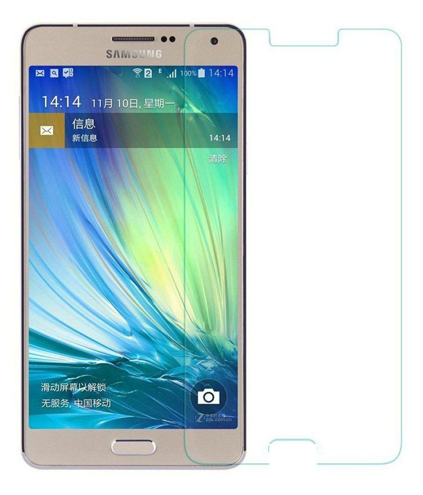 Samsung Galaxy A8 Tempered Glass Screen Guard by Uni Mobile Care