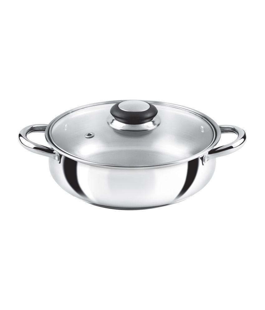 anjali fiesta stainless steel casserole 2 litre buy online at rh snapdeal com