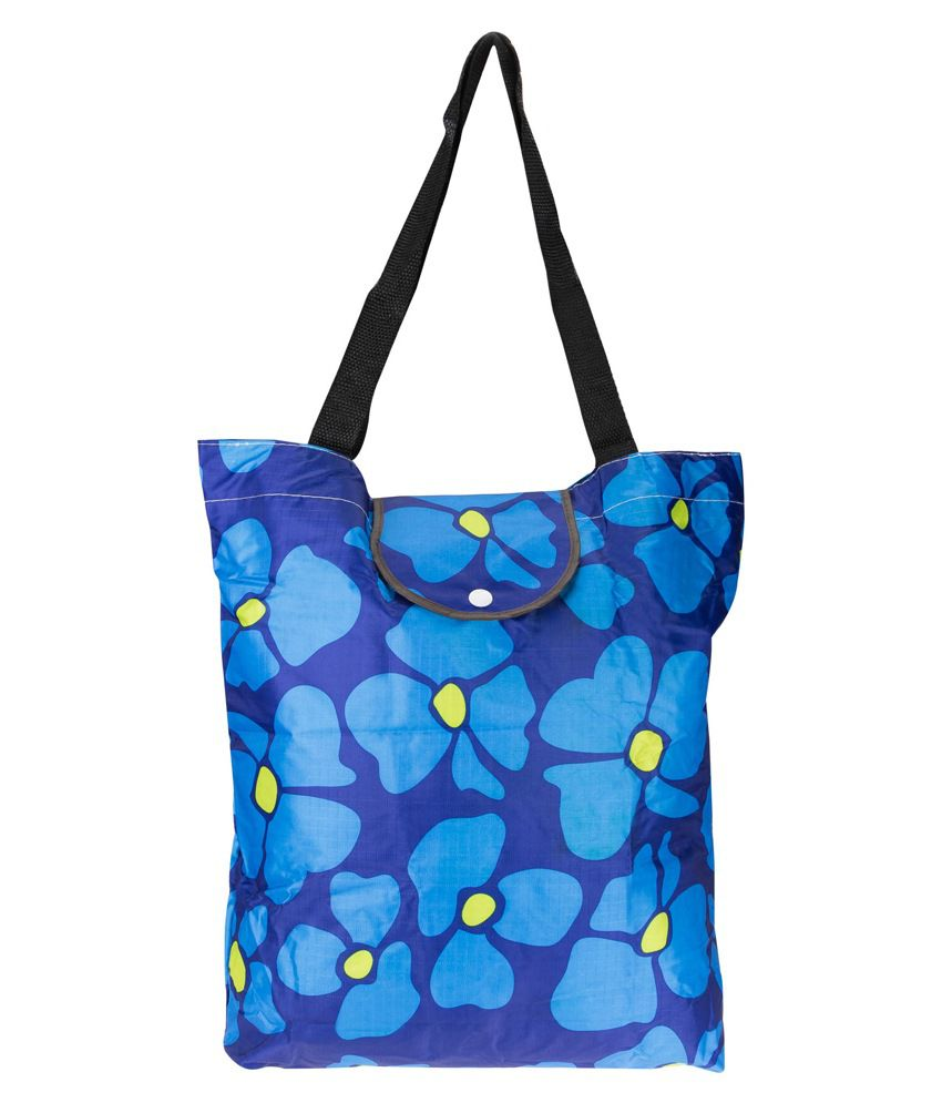 Genious Blue Shopping Bag For Women
