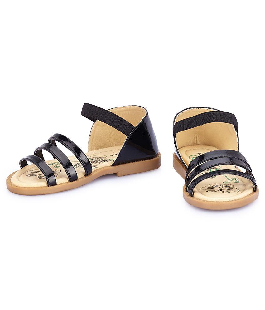 Kittens Black Sandals For Kids Price in India Buy Kittens Black