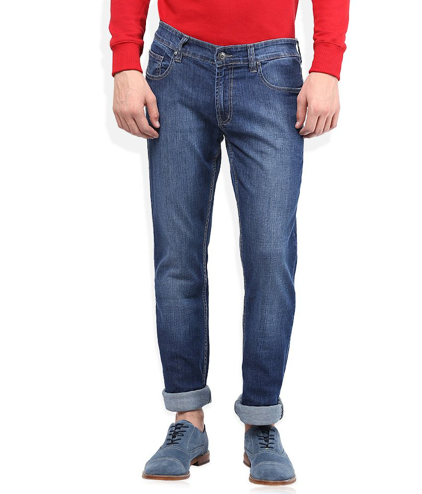 Numero Uno Blue Slim Fit Jeans