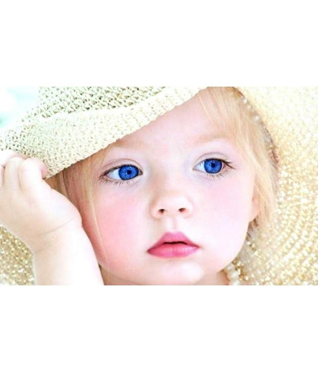 6a3c411699e MNTC Cute Charming Baby Girl Poster