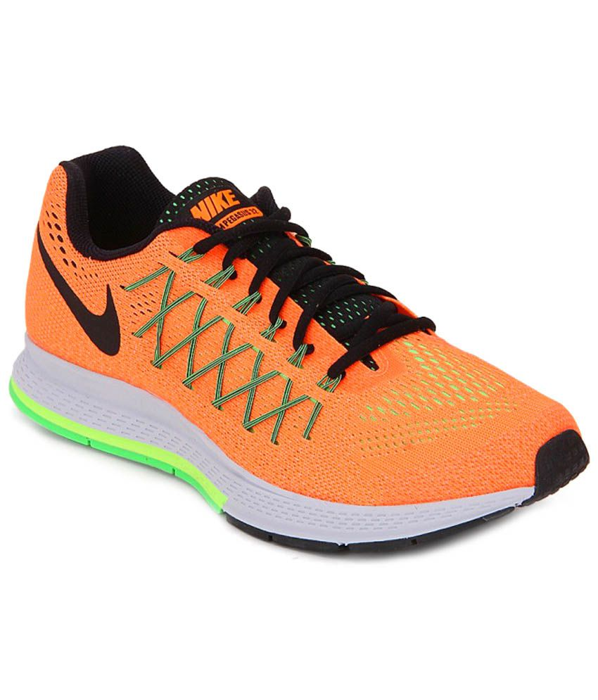 Nike Air Zoom Pegasus 32 Orange Sports Shoes ...