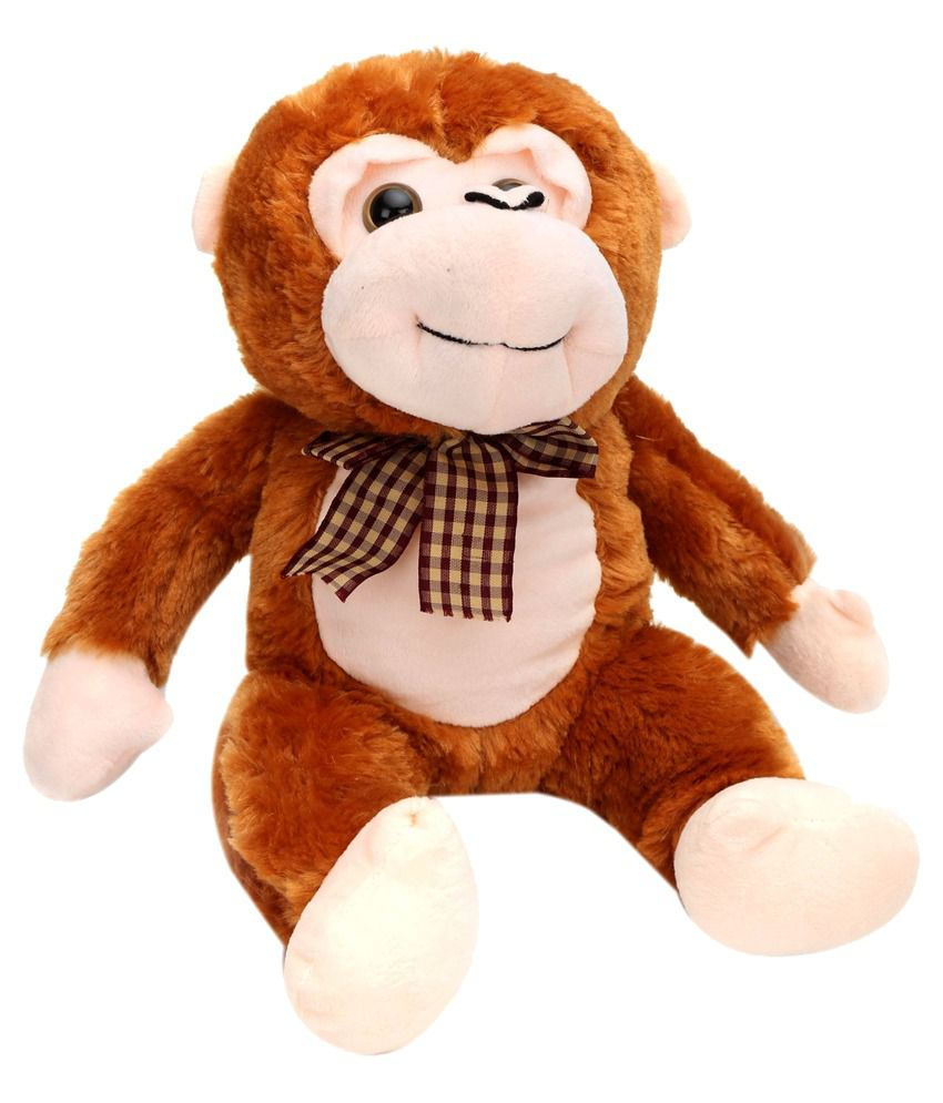 Tickles Brown Stuffed Animal