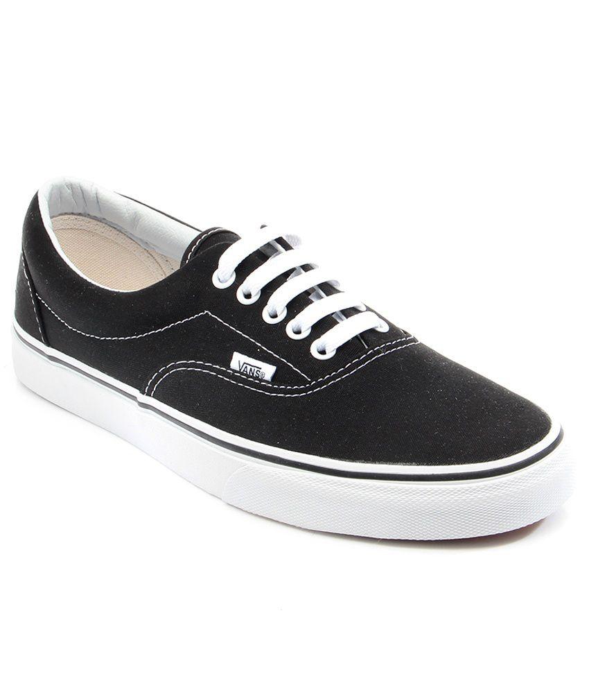 vans era black casual shoes buy vans era black casual