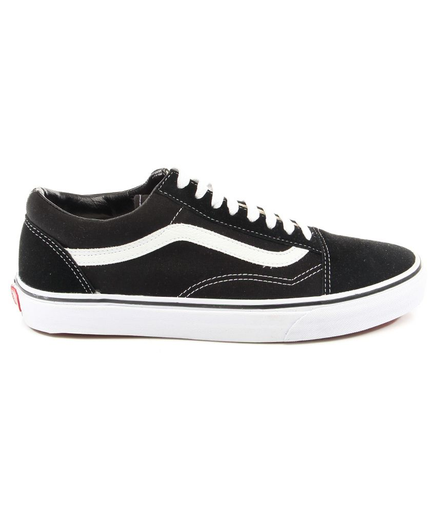 Vans Old Skool Black Casual Shoes - Buy Vans Old Skool Black Casual ... 8741cf8a602a
