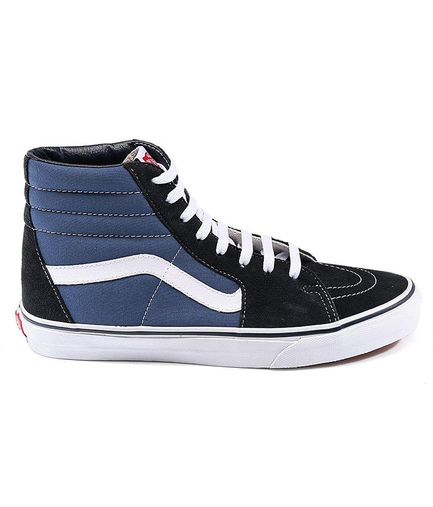 e2be193ed2a Vans Sk8 Hi Black Casual Shoes Price in India- Buy Vans Sk8 Hi Black ...